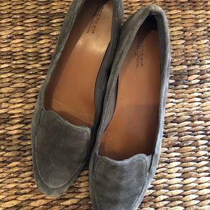 Sage-Green Rockport Wedge Shoes